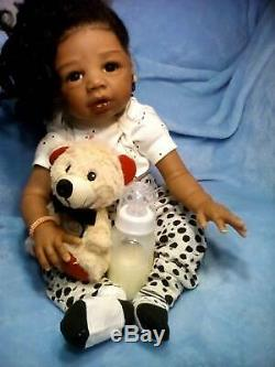 (AA), Ethnic Realistic Baby Girl Doll, Kyra