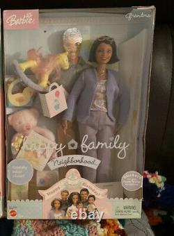 AA Grandma Doll Happy Family Barbie Doll Neighborhood NRFB Rare