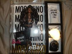 AA Moschino Barbie NRFB LE 700 only Superstar Jeremy Scott African-American