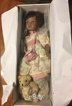 AFRICAN AMERICAN PORCELAIN DOLL TAMARA ShowStoppers NIB