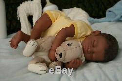 A Groovy Doll, Baby! Reborn Baby Boy Realborn Dollbargain Baby! Pntd Hair