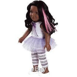 Adora 18 FRIENDS DOLL KAYLA Purple Tutu Ballet African American Girl Outfit NEW