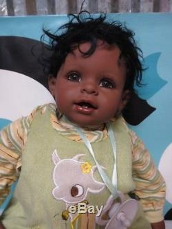 Adora Doll African American Baby Boy With Outfit Very Cute 19