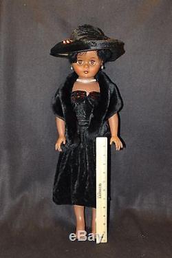 African American 24 Lady Fashion Doll Vintage Vinyl