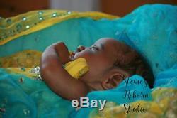 African American Aa Reborn Baby Ethnic Biracial East Indian Evangeline Ooak