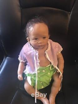 African American Ashton Drake Little Mia Baby girl Lifelike