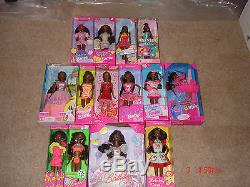 African-American Barbie Doll Collection