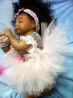 African American, Ethnic Realistic Baby Girl Doll, Isaac