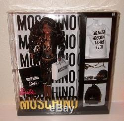 African-American MOSCHINO Barbie Doll NRFB AA LE 700