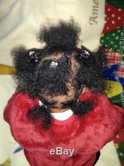 African American Reborn Baby Doll 21 Kyra kit by Eva Helland