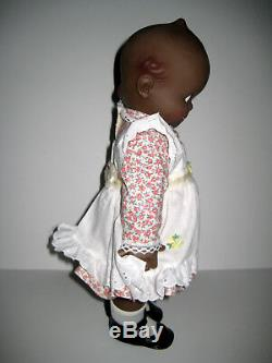African American Vinyl Cameo Jesco Kewpie Doll WithBox & Certificate