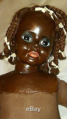 African American vintage plantation doll baby