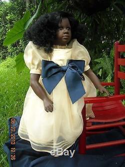 Aimee African American Vinyl 29+Girl by German Artist Ruth Treffeisen