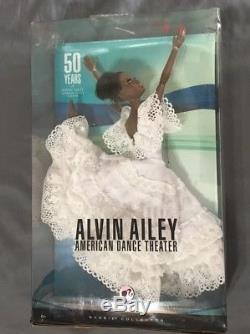 Alvin Ailey American Dance Theater Barbie Doll Pink Label NRFB African American