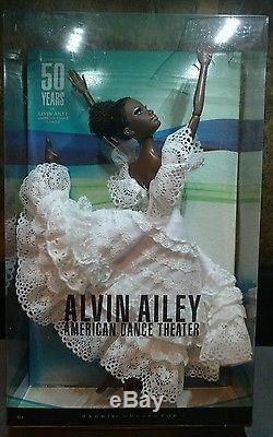Alvin Ailey American Dance Theater Barbie NRFB African American Mattel