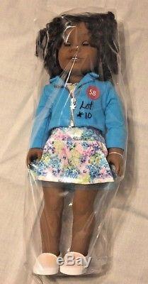American Girl 18 Doll Authentic Brown hair, Brown Eyes, #58 African American