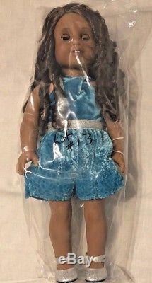 American Girl 18 Doll Authentic Brown hair, Brown Eyes, African American