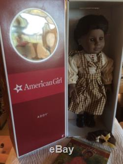 American Girl Addy Walker Doll Pleasant Co In Box African American