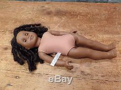 American Girl Cecile Rey 2011 Retired African American Doll 18 Very Nice! HTF