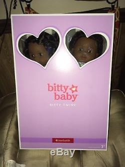 American Girl Dark African American Bitty Twins
