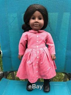 American Girl Doll ADDY WALKER African American Pleasant Company 18 Brown Eyes