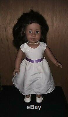 American Girl Doll, African American Brown Hair/Brown Eyes, 18, 2008