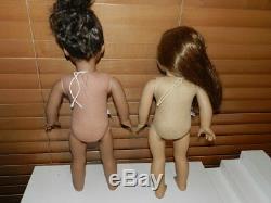 American Girl Doll Lot Felicity African American 2 Dolls