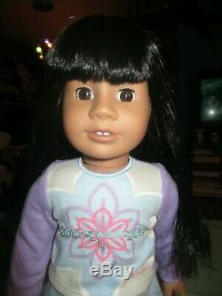 American Girl Just Like You Truly Me 11 African-American Black Doll Dark Skinned