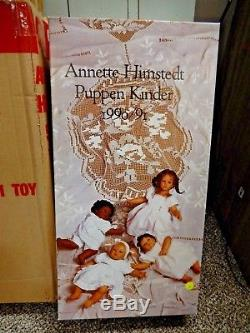 Annette Himstedt Mo And The Barefoot Babies Mo Doll African American Aa