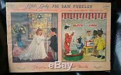 Antique Puzzle Effanbee Clippo African American MiB 1940s Little Lady Dolls