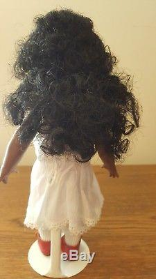 Antique reproduction African American Just Me doll
