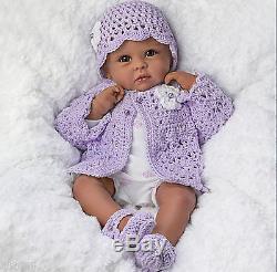 Ashton Drake'Tiana Goes To Grandma's' Poseable African-American Baby Doll