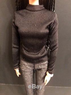 Ava DuVernay Barbie Doll 2015 Platinum Label # DPP89 African American Director