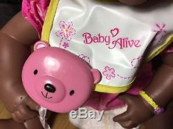 BABY ALIVE AFRICAN AMERICAN Soft Face Interactive Doll 2006 ENGLISH SPEAKING