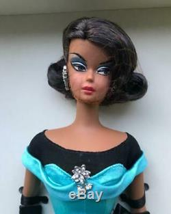 BALL GOWN AA African American Silkstone Barbie DollGold LabelNIBNRFB