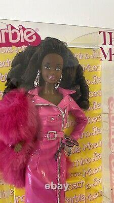 BARBIE aa Afro Moschino The Met Platinum Label NRFB! Limited Doll FAST SHIPPING