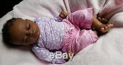 BEAUTIFUL AFRICAN AMERICAN REBORN BABY GIRL