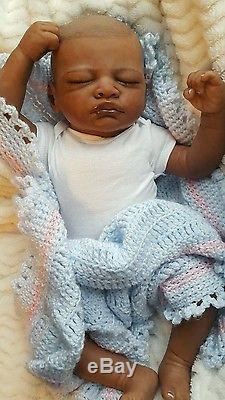 BEAUTIFUL AFRICAN AMERICAN REBORN BABY GIRL OR BoY (AISHA)