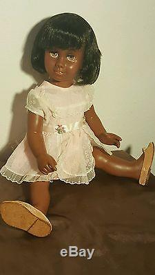 Beautiful Mattel African American Chatty Cathy Doll(repaired To Talk)
