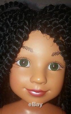BFC Ink Pen Pal Carmen 18 African American Doll Ballerina htf ooak