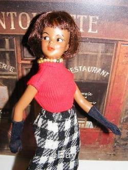 BLACK TAMMY Ideal DOLL RARE VINTAGE 1965 African American Grow up WINTER WEATHER