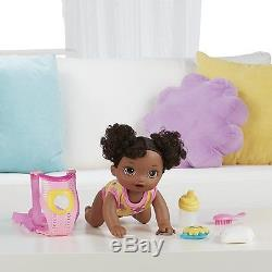 Baby Alive Doll Baby Alive Baby Go Bye Bye (African American) Talks English &
