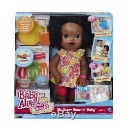 Baby Alive Doll Baby Alive Super Snacks Snackin Sara African American Movin