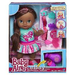 Baby Alive Play'N Style Christina Doll (African American) Christmas Games NEW