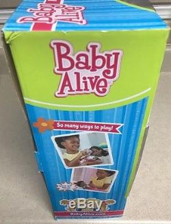 Baby Alive Real Surprises African American Baby Doll A3850 NEW! Rare