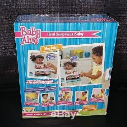 Baby Alive Real Surprises African American Doll Talking Interactive New in Box