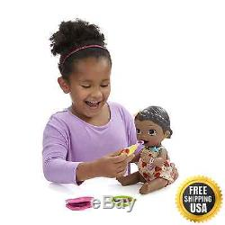 Baby Alive Super Snacks Snackin Lily African American New