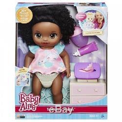 Baby Alive Twinkles N Tinkles (African American) Doll Interactive Speaks Eng