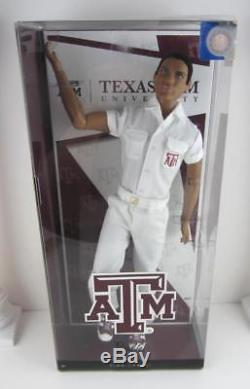 Barbie. AA Ken Texas A&M University Cheerleader African American Articulated