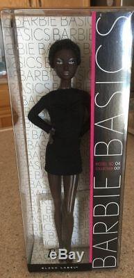 Barbie Basics Black Label African American Doll 04-001-2009 Nrfb